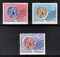 FRANCE  1964 / 1976 - SERIE Y.T. N° 127 A 129 - 3 PREO NEUFS** - 1964-1988