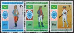 MAURITANIE Poste Aérienne Série N°164 Au 166 Oblitéré - Mauritanie (1960-...)