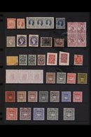 BRITISH COMMONWEALTH - FORGERIES AND FACSIMILES Collection With Much Of Interest Including Australian States, Batum (Bri - Stamps
