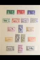 BRITISH COMMONWEALTH FINE MINT COLLECTION. 1880s-1970s Interesting Collection Of Fine Mint Stamps In An Album That Inclu - Stamps