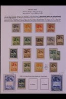 LATIN AMERICAN TELEGRAPH STAMPS. The Beautiful Balance Of An Exhibition Collection Of Telegraph Stamps & Related Items N - Stamps