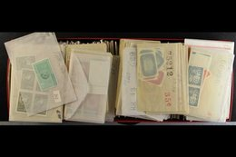 WORLD SUPERB NEVER HINGED MINT RANGES. 1950's-1970's Stamps & Mini-sheets With Only Light Duplication Sorted By Issues I - Stamps