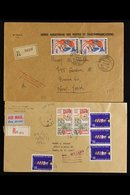 INDEPENDENT AFRICA COVERS Chiefly 1950's And 1960's Philatelic And Commercial Covers From A Variety Of Countries Includi - Stamps