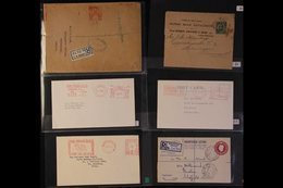 """ADVERTISING ENVELOPES & METER MAIL BIRDS & ANIMALS Theme, Includes Material Related To Dogs With 1937 """"Kennel Gazette"""" M - Unclassified"""