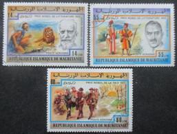 MAURITANIE Poste Aérienne Série N°178 Au 180 Oblitéré - Mauritanie (1960-...)