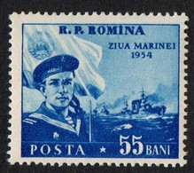 Romania.   1954 Navy Day. MNH - 1948-.... Republiken