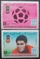 MAURITANIE Poste Aérienne N°182 Et 183 Oblitérés - Mauritanie (1960-...)