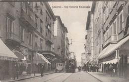 Cartolina - Livorno - Via Vittorio Emanuele - Livorno