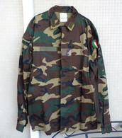 Giacca Pantaloni Woodland Carabinieri Rgt. Tuscania Anni '90 Tg.58 Nuovi Marcati - Polizia
