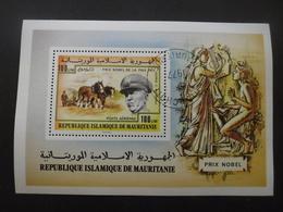 MAURITANIE Bloc N°17 Prix Nobel De La Paix Oblitéré - Mauritanie (1960-...)