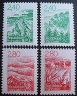 1963 - 1995 - LES REGIONS DE FRANCE (SERIE COMPLETE) - N°2949 à 2952 NEUFS** - France