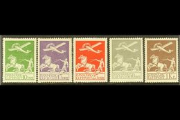 1925-29 Air Set Complete, SG 224/228, Very Fine Mint. (5 Stamps) For More Images, Please Visit Http://www.sandafayre.com - Danemark