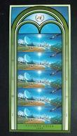 UNO-Wien 373/4 **/mnh KB/sheet, 3. Konf. Der Vereinten Nationen über Die Erforschung U. Friedliche Nutzung Des Weltraum - Geneva - United Nations Office