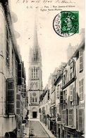 64. Pau. Rue Jeanne D'albret; église Saint Martin - Pau