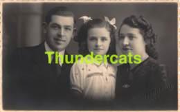 CPA CARTE DE PHOTO FOTOKAART VALCKAERT LAUWE FAMILLE FAMILIE - Menen
