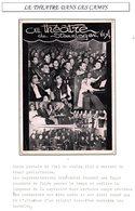 Carte De Représentation Théatrale De Prisonnier De Guerre 1939/1945 Stalag Stammlager VIII A Gorlitz Breslau - Documents