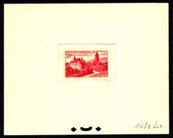 FRANCE - N° 905 - VUE D'ARBOIS DANS LE JURA - LES VIGNOBLES - EPREUVE D'ARTISTE N°1430Lx ROSE. - Artist Proofs