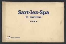 +++ CPA - Carnet De 10 Cartes - SART LEZ SPA - SPA - Café - Restaurant - Maison Lespire  // - Jalhay