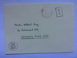 GB - 1982 Cover EIIR Cachet Official Paid Postmark - 1952-.... (Elizabeth II)