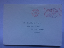 GB - 1975 Cover With Lord Of The Treasury Cachet On 10 Downing Street Envelope - 1952-.... (Elisabetta II)