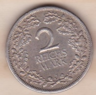 2 Reichsmark 1926 J (HAMBOURG) , En Argent - [ 3] 1918-1933 : Weimar Republic