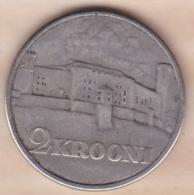 Estonie 2 Krooni 1930 Forteresse De Toompea . KM# 20 , En Argent - Estonie