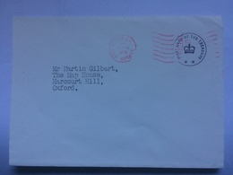 GB - 1975 Cover First Lord Of The Treasury Cachet On 10 Downing Street Envelope - 1952-.... (Elisabetta II)