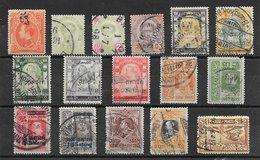 Thaïlande (Siam) Anciens Lot De 16 Tp 1899-1925 - Siam