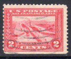 USA 1913-15 Panama-Pacific Exposition 2c Carmine, Perf. 12, U, SG 424 - Stati Uniti