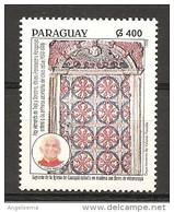 PARAGUAY - 1998 Papa GIOVANNI PAOLO II Nuovo** MNH - Papi