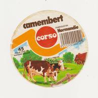 ETIQUETTE DE CAMEMBERT  CLAUDEL  POUR CORSO 50 L - Cheese