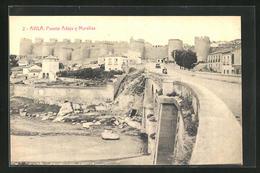 Postal Avila, Puente Adaja Y Murallas - Ávila