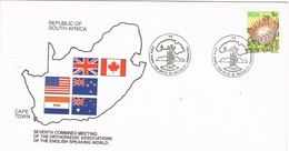 31954. Carta CAPE TOWN (South Africa) 1982. Orthopaedic Assotiations Meeting. Medicina - África Del Sur (1961-...)