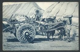 +++ CPA - Asia - Chine  - China - Country Cart - PEKING - SHANGAI  1913   // - Chine