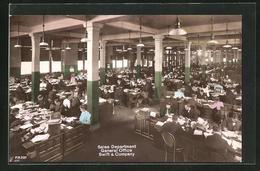 AK New York, NY, Sales Department General Office, Swift & Company - NY - New York