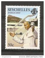 SEYCHELLES - 1986 Visita Di Papa GIOVANNI PAOLO II Nuovo** MNH - Papi