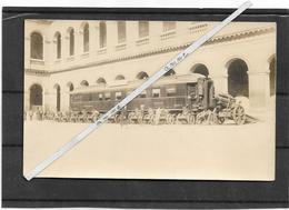 Vintage Photo   *  Compagnie Internationale Des Wagons-Lits (Trein - Train - Kanon - Canon - War - Guerre) - Chemin De Fer