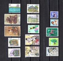 Japón  1983 . Y&T Nº  1443/44-1445/46-1447-1448/49-1450-1451/52-1453-1454-1455-1456/57 - 1926-89 Emperor Hirohito (Showa Era)