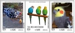 BRAZIL Stamp Brazilian Animal Bird 2018 - Ungebraucht