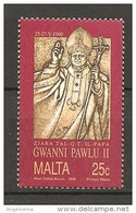 MALTA - 1990 Visita Di Papa GIOVANNI PAOLO II Nuovo** MNH - Papi