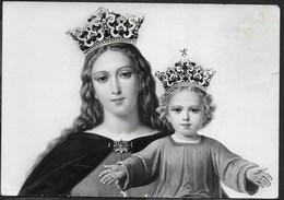 TORINO - BASILICA MARIA AUSILIATRICE - QUADRO TAUMATURGO - PARTICOLARE - SCRITTA AL RETRO - Vergine Maria E Madonne
