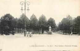 CPA 59 Nord Valenciennes Le Mail Place Cardou Et Boulevard Watteau - Valenciennes