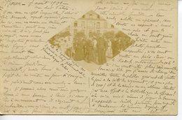 694. CPA 76 ROUEN. PETITE PHOTO CENTRALE. FETE DU REGIMENT PROBABLEMENT AU 39ème REGIMENT D'INFANTERIE 1901 - Rouen