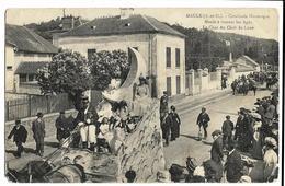 MAULE  Cavalcade Historique M. à Travers Les Ages Le Char Du Clair De Lune. Coll. Legrand (2 Angles Bas Pliés & Arrondis - Maule