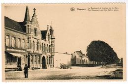 Nieuwpoort, Nieuport, Le Boulevard Et La Place De La Gare (pk55319) - Nieuwpoort
