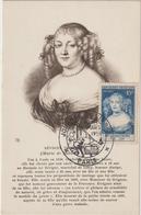 Carte-Maximum FRANCE N° Yvert 874 (Mme De SEVIGNE) Obl Sp Ill Journée Du Timbre (Ed CAP - ND) - 1950-59