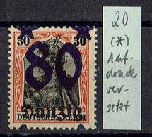 Danzig 1920 // Mi. 20 (*) - Danzig