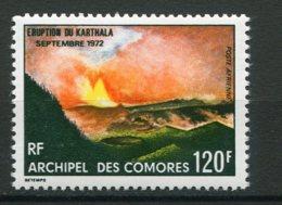 11424 COMORES  PA 54 ** 120F  Eruption Du Kalthala     1973  TB/TTB - Luftpost