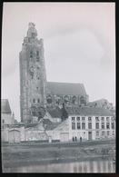 OUDENAARDE WW 1 - FOTO VAN CLICHE GLASPLAAT 17.5 X 12 CM - Oudenaarde