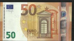 """50 EURO """"Z"""" BELGIQUE/BELGIUM Z001 H4 ZA1712135239 UNC DRAGHI - 50 Euro"""